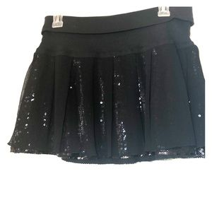 🆕 BNWT- Sparkly sequenced mini skirt Free People